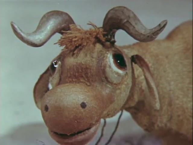 Как старик корову продавал. Кукольный мультик | Золотая коллекция