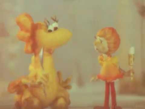 Девочка и дракон (1983). Озвучивает Алексей Баталов. Кукольный мультфильм | Золотая коллекция