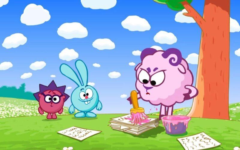 Скамейка - Смешарики 2D | Мультфильмы для детей