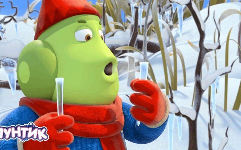 Лунтик | Уф, как холодно ❄❄❄ Короткий сборник мультиков для детей